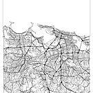 San Juan Map Minimal by HubertRoguski