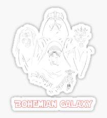 Bohemian Galaxy Sticker