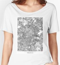 Mexico Map Minimal Women's Relaxed Fit T-Shirt