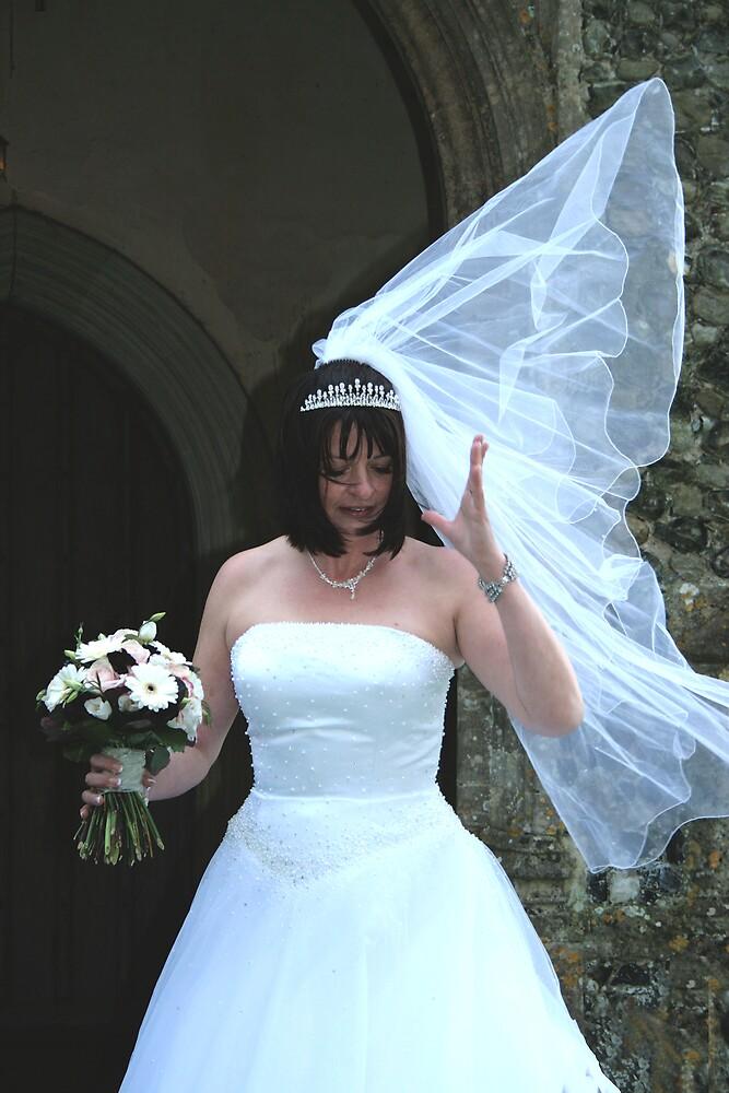 Oh No! My Veil!!! by BizziLizzy