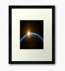 Beautiful Earth Framed Print