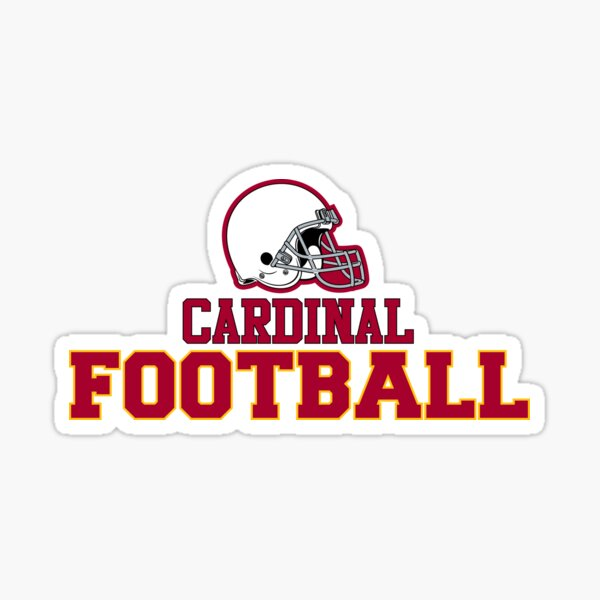 Football Bird Red Sticker