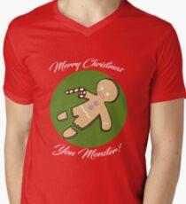 Gingerbread Man Christmas - Red T-Shirt