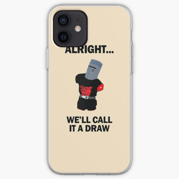 Black Knight - we'll call it a draw! iPhone Soft Case