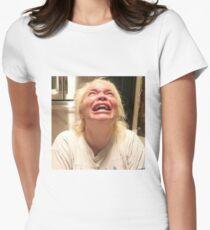 trisha crying Fitted T-Shirt