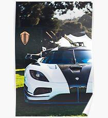 Koenigsegg Agera RS1 Poster