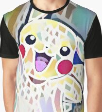 Astrid Stoeppel Stylized Hi5 Pikachu! Graphic T-Shirt