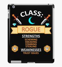 D20: Rogue Funny RPG iPad Case/Skin