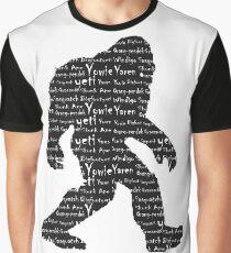 Bigfoot Sasquatch Yeti Yowie Skunk Ape Grassman Yaren Graphic T-Shirt