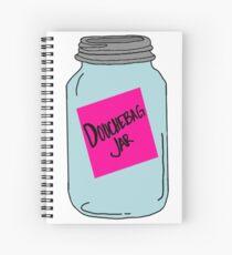The Douchebag Jar Spiral Notebook