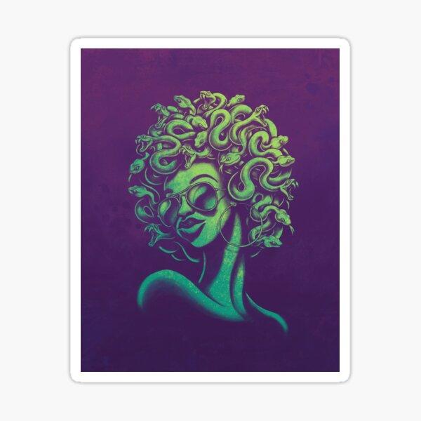 Funky Medusa Sticker