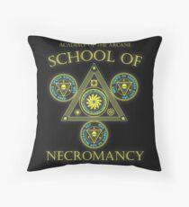 Academy of the Arcane: School of Necromancy RPG shirt Throw Pillow