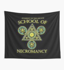 Academy of the Arcane: School of Necromancy RPG shirt Wall Tapestry