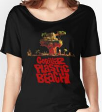 Gorillaz Plastic Beach Women's Relaxed Fit T-Shirt