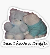 Can I have a Cuddle Sticker