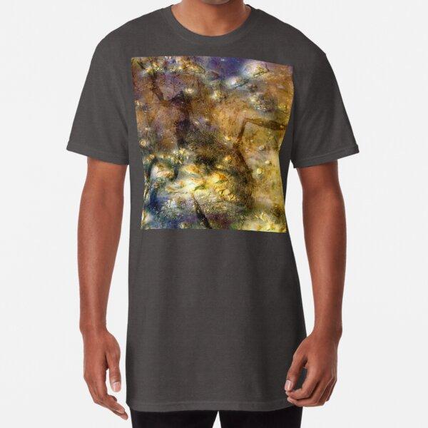 Martian Fossils 3 Long T-Shirt