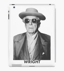 Frankly, Mr. Wright iPad Case/Skin