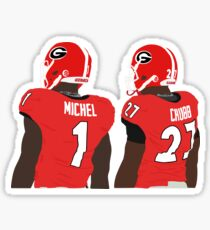 Michel and Chubb Sticker