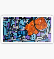 Astronaut Gummy Bear Sticker