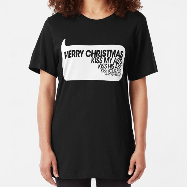 Zoko Apparel Nobody FCK with The Jesus Ugly Christmas T-Shirt