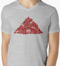 Thee Oh Sees Floating Coffin - Pile of Strawbs Men's V-Neck T-Shirt