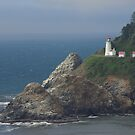 Heceta Head Lighthouse, Oregon by Peter Zentjens