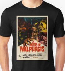 The Werewolf Versus the Vampire Woman / La noche de Walpurgis Unisex T-Shirt