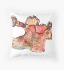 abstract horsie  Throw Pillow