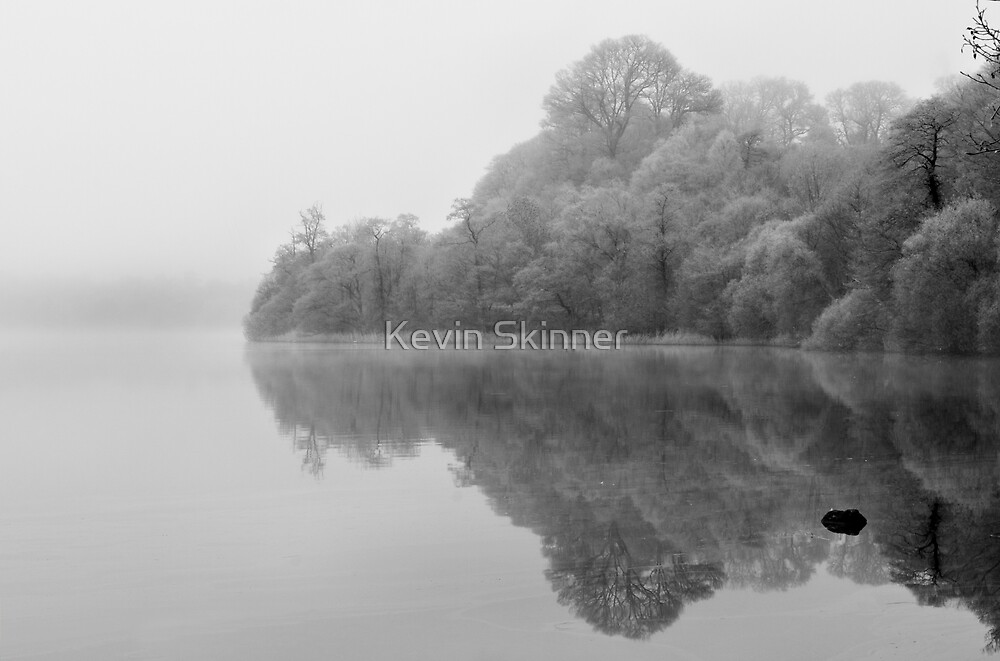 Lake Of Menteith - Frozen Mist by Kevin Skinner