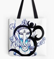 OM  Ganesha Tote Bag