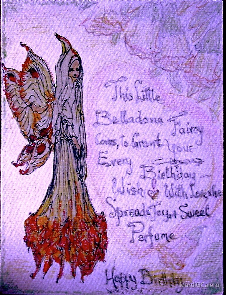 Belladonna Fairy by MardiGCalero