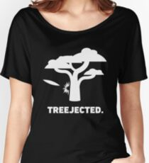 Treejected | Funny Disc Golf Women's Relaxed Fit T-Shirt