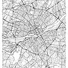 Nantes Map Minimal by HubertRoguski
