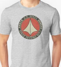 UN Spacy Space Proving Wing  Slim Fit T-Shirt