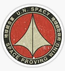 UN Spacy Space Proving Wing  Sticker
