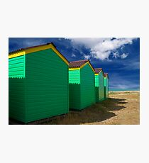 Beach Hut Series 5 Photographic Print