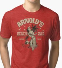 Arnold's Beach Bar  Tri-blend T-Shirt
