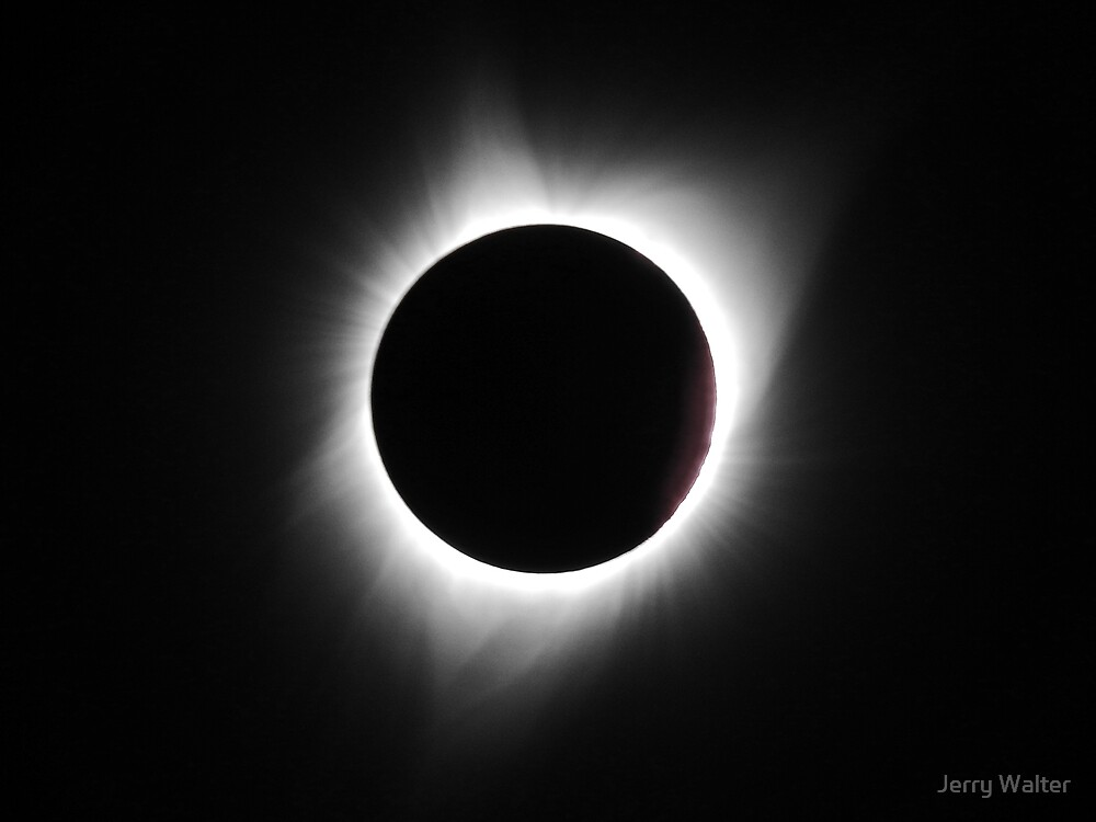 Total Solar Eclipse August 21, 2017 by Jerry Walter