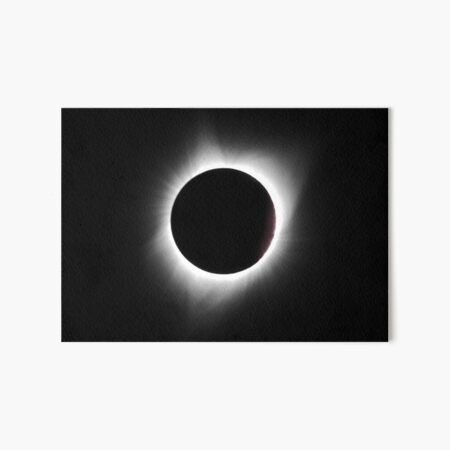 Total Solar Eclipse August 21, 2017 Art Board Print