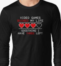 Video Games Ruined My Life T-Shirt