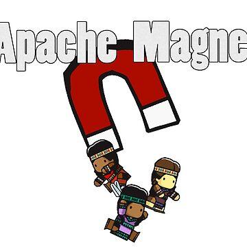 Apache Magnet by IceTigerKitten
