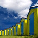 Beach Hut Series 12 by Amanda White