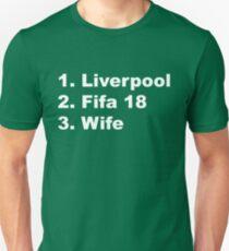 Liverpool fc, Fifa 18, Wife T-Shirt