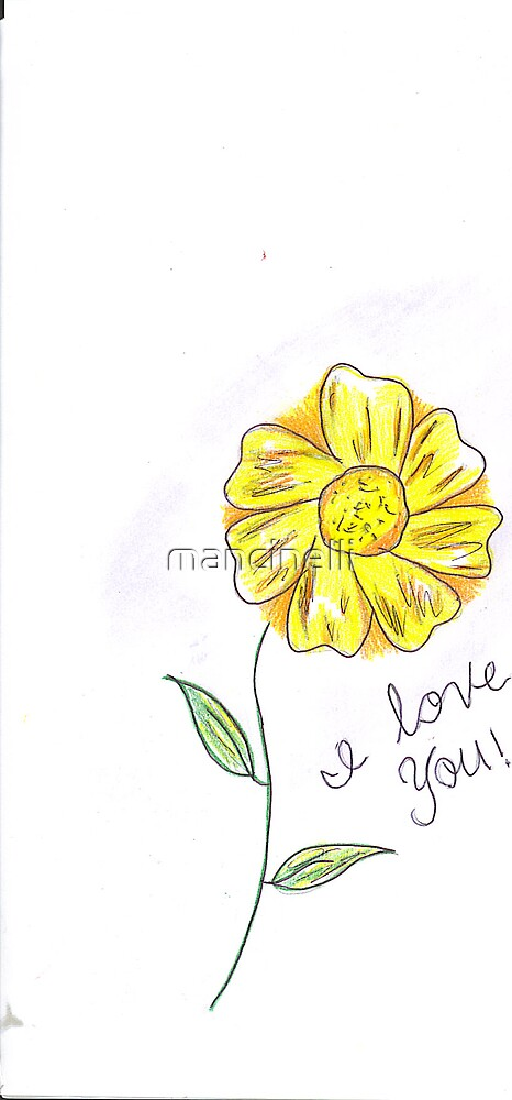 i love you by mancinelli