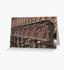 Ex Cathedra Greeting Card