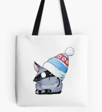 Winter Kitty Tote Bag