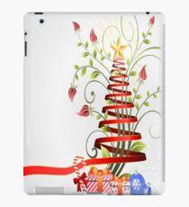 Holiday Christmas Tree Ribbon iPad Case/Skin