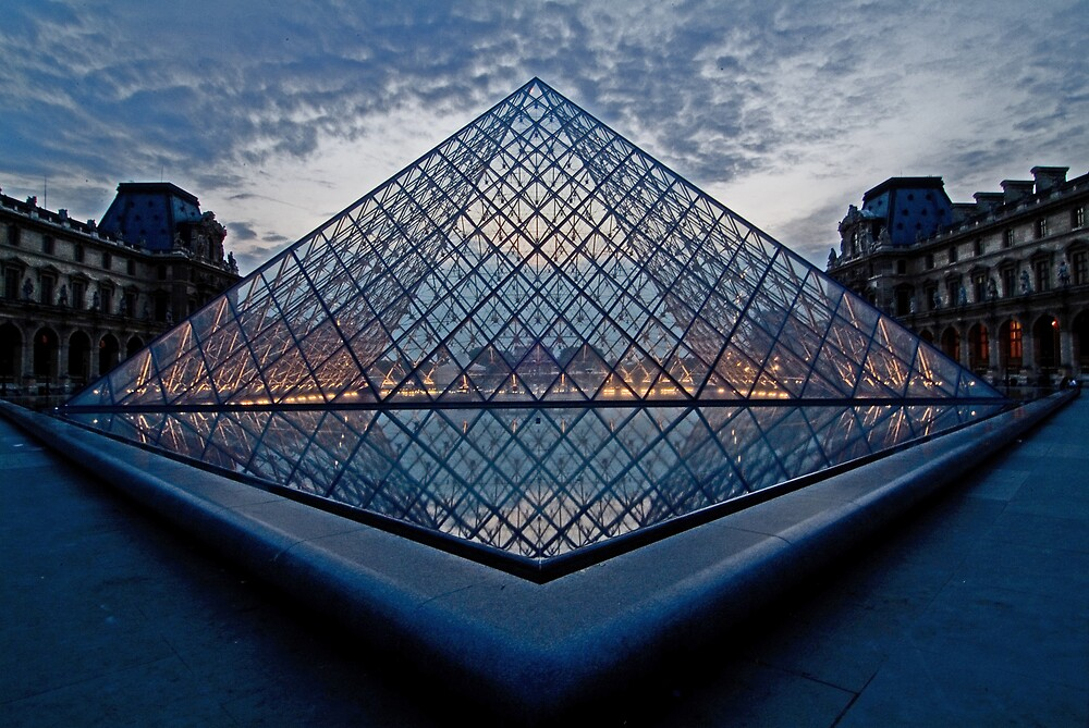 Le Louvre by andyw