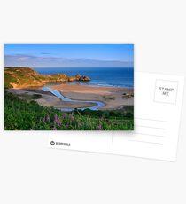 Three Cliffs Bay Postcards