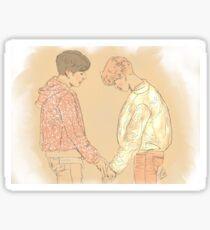BTS Jungkook and Jimin  Sticker
